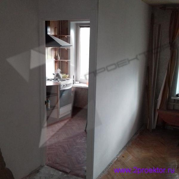 Незаконный демонтаж перегородки в квартире в Зюзино