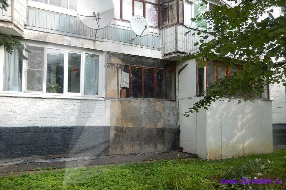 Демонтаж незаконно пристроенных балконов в районах Крюково и Северное Тушино (Рис 7.)