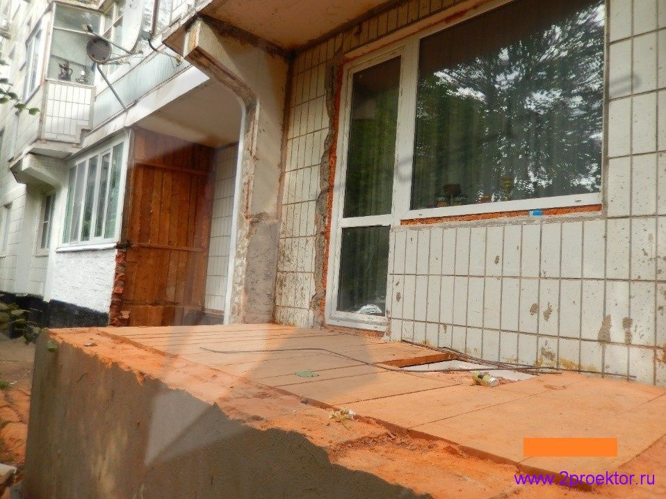 Демонтаж незаконно пристроенных балконов в районах Крюково и Северное Тушино (Рис 5.)