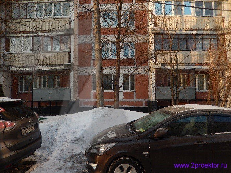 Демонтаж незаконно пристроенных балконов в районах Крюково и Северное Тушино (Рис 4.)