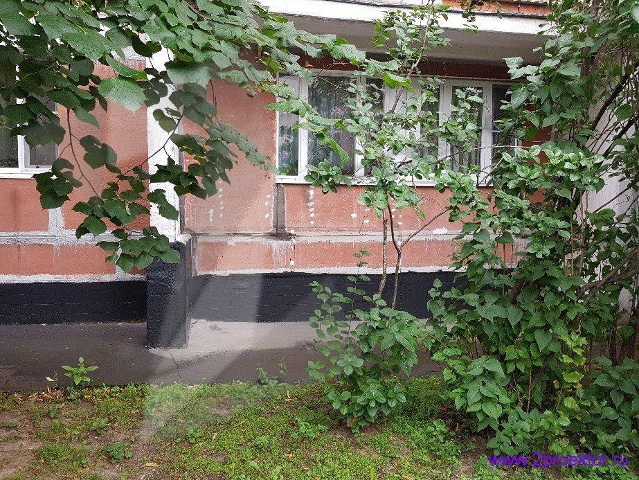 Демонтаж незаконно пристроенных балконов в районах Крюково и Северное Тушино (Рис 2.)