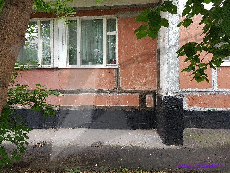 Демонтаж незаконно пристроенных балконов в районах Крюково и Северное Тушино (Рис 1.)