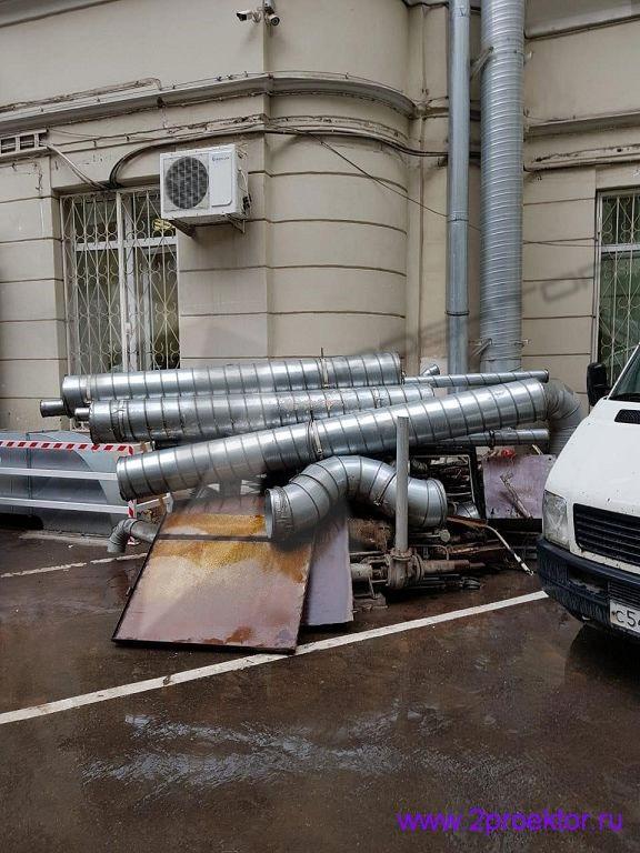 Незаконное размещение вентиляционного оборудования на фасаде домов (Рис. 3)