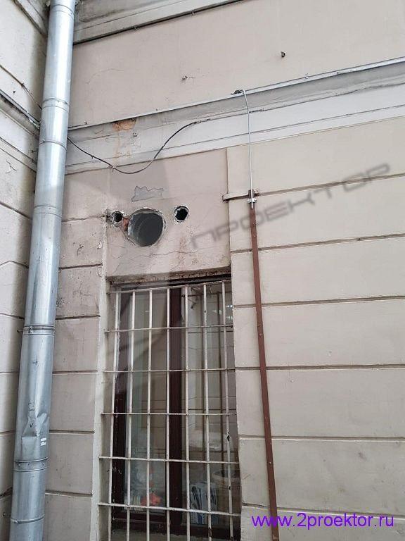 Незаконное размещение вентиляционного оборудования на фасаде домов (Рис. 2)