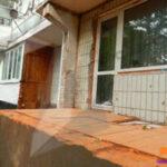 Демонтаж незаконно пристроенных балконов в районах Крюково и Северное Тушино
