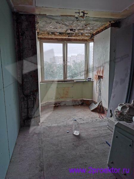 Результат неузаконенной перепланировки квартиры в Бабушкинском районе (рис. 1)