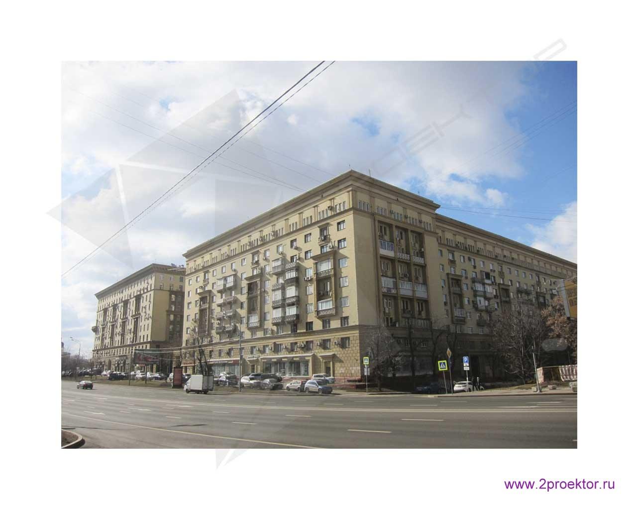Сталинский дом в Москве