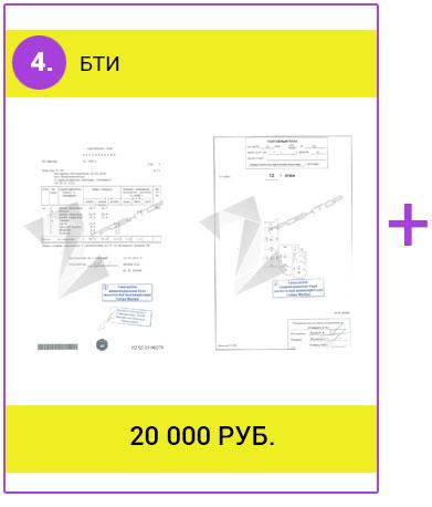 Акция: БТИ - 20 тыс. руб.