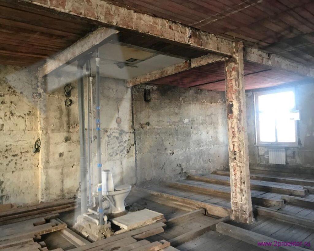 деревянные перекрытия