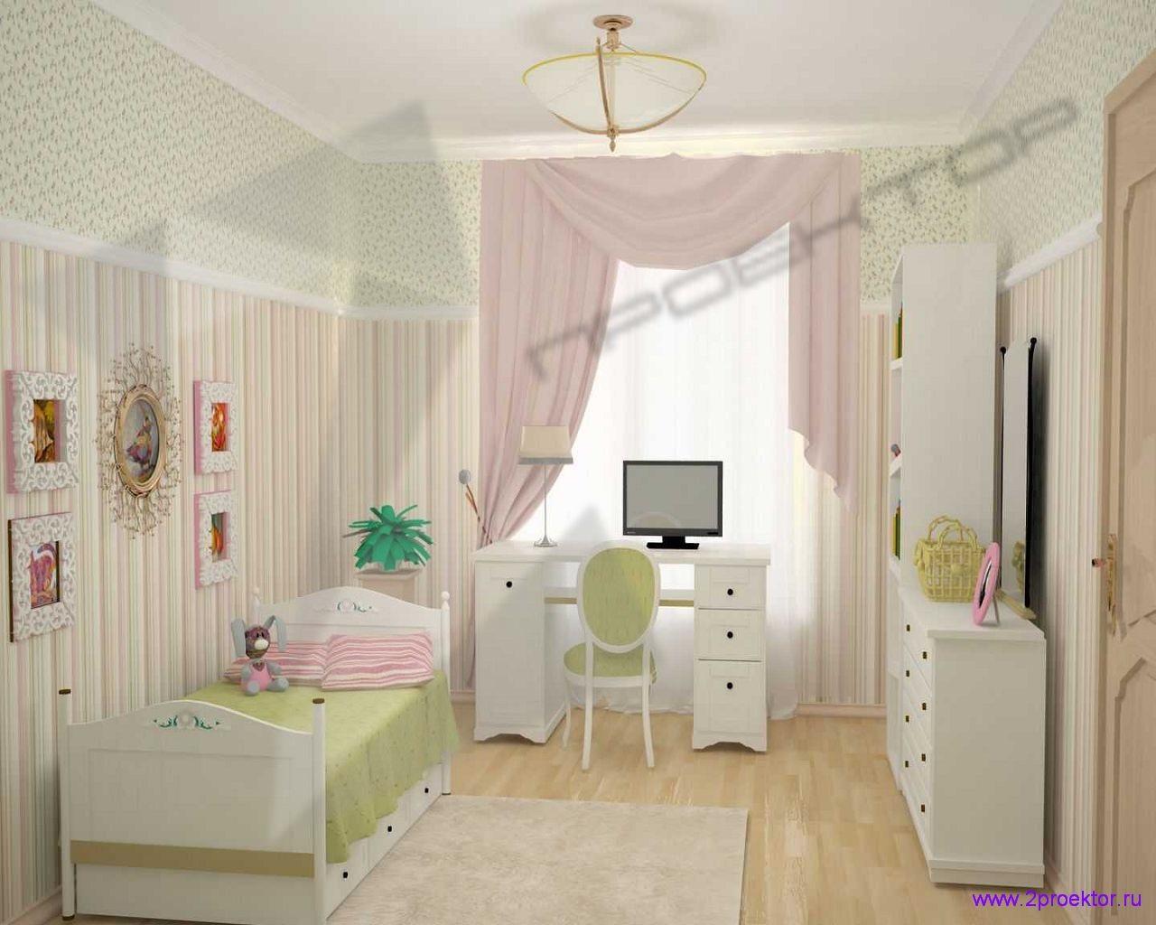 Уютный дизайн детской комнаты в Жилом комплексе Долина Грез