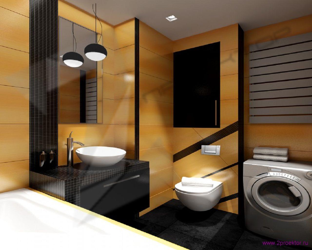 Дизайн ванной комнаты в Жилом комплексе Суворов парк.