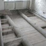Дом, с деревянными перекрытиями