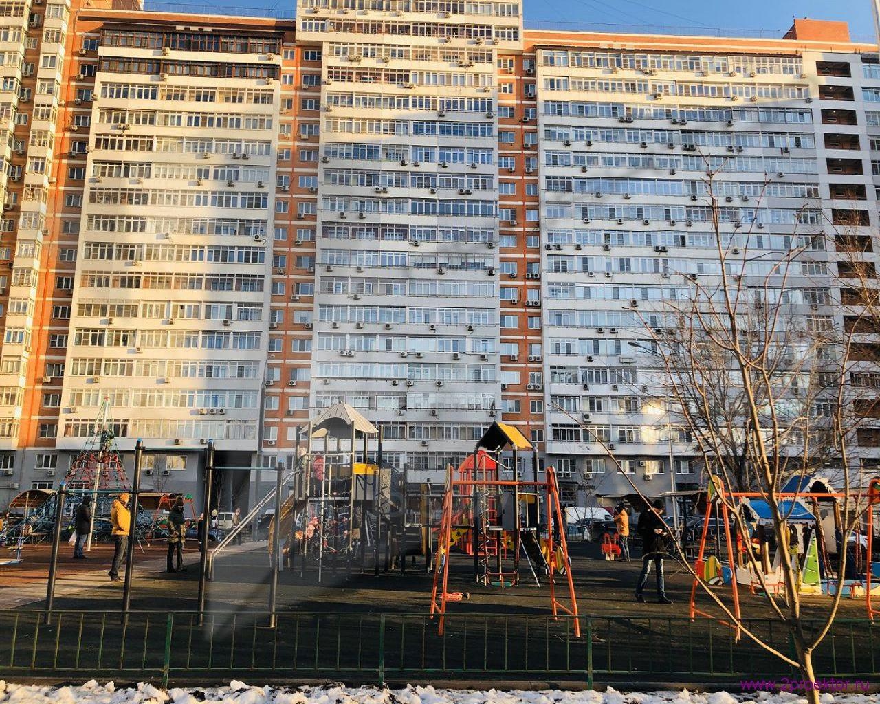 Игровая площадка в Жилом комплексе Пальмира.
