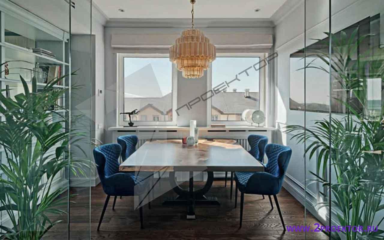 Интерьер перепланировки квартиры в доме серии ii 18