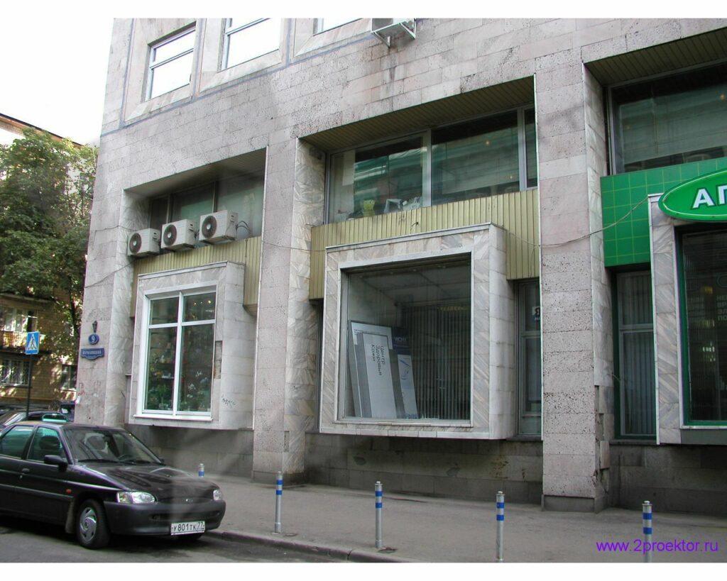 Фото нежилого здания до перепланировки фасада