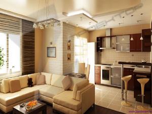 Согласование объединения кухни и комнаты с газовой плитой