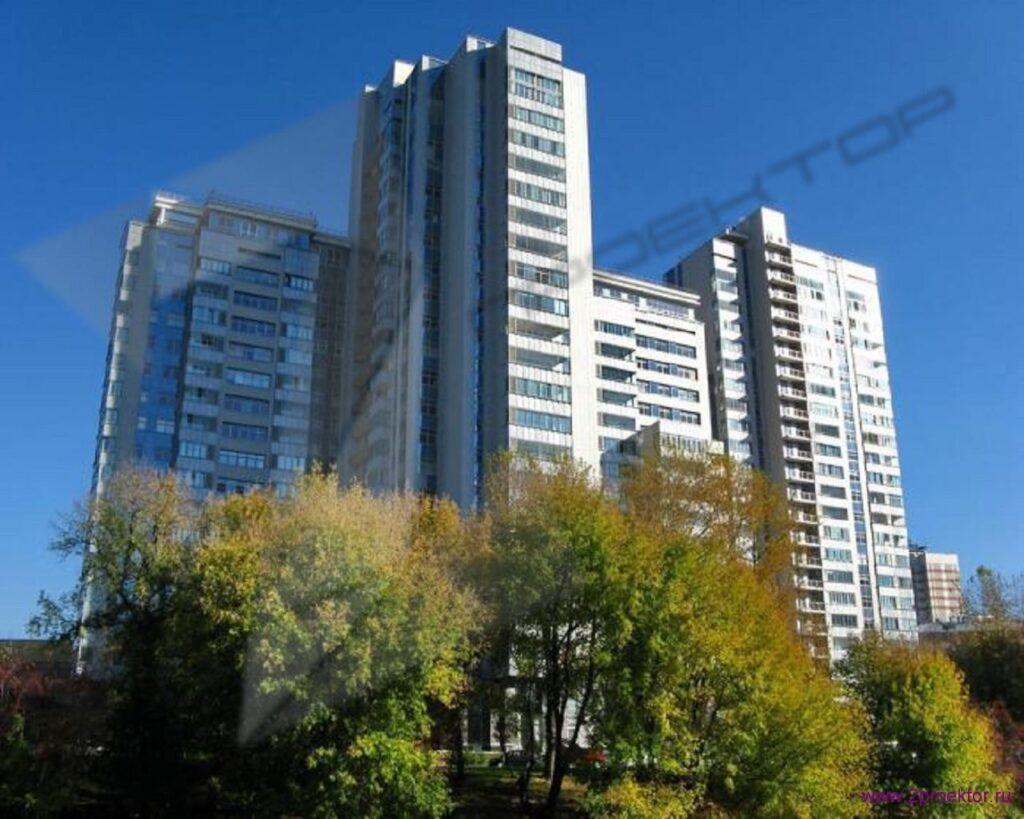 Общий вид на Жилой комплекс Шмитовский