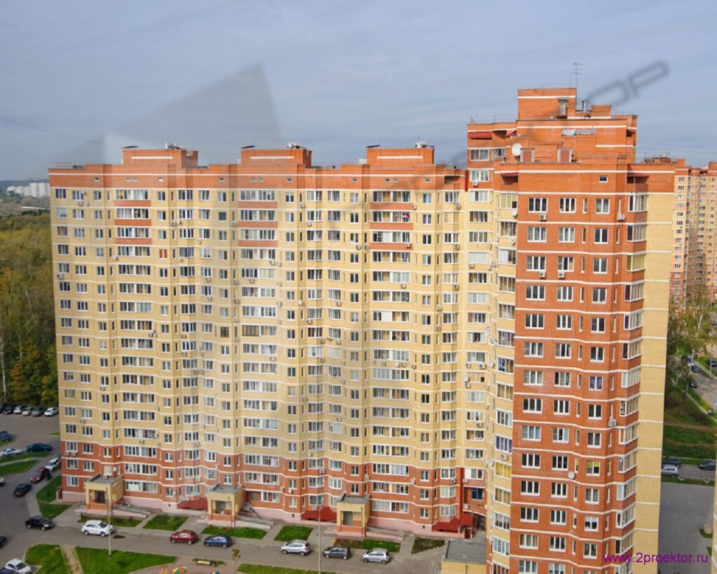 Общий вид на Жилой комплекс Юго-Западный.