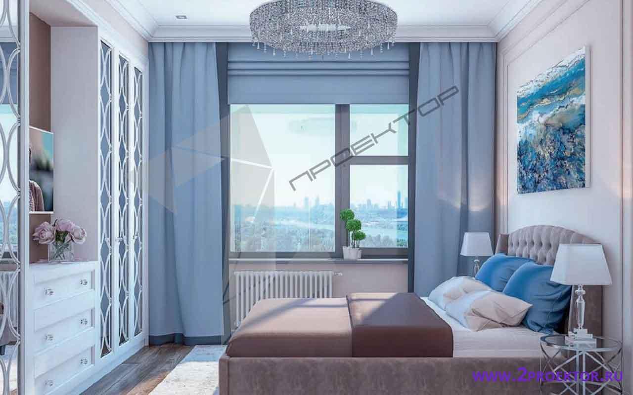 Интерьер перепланировки квартиры в однокомнатной хрущевке