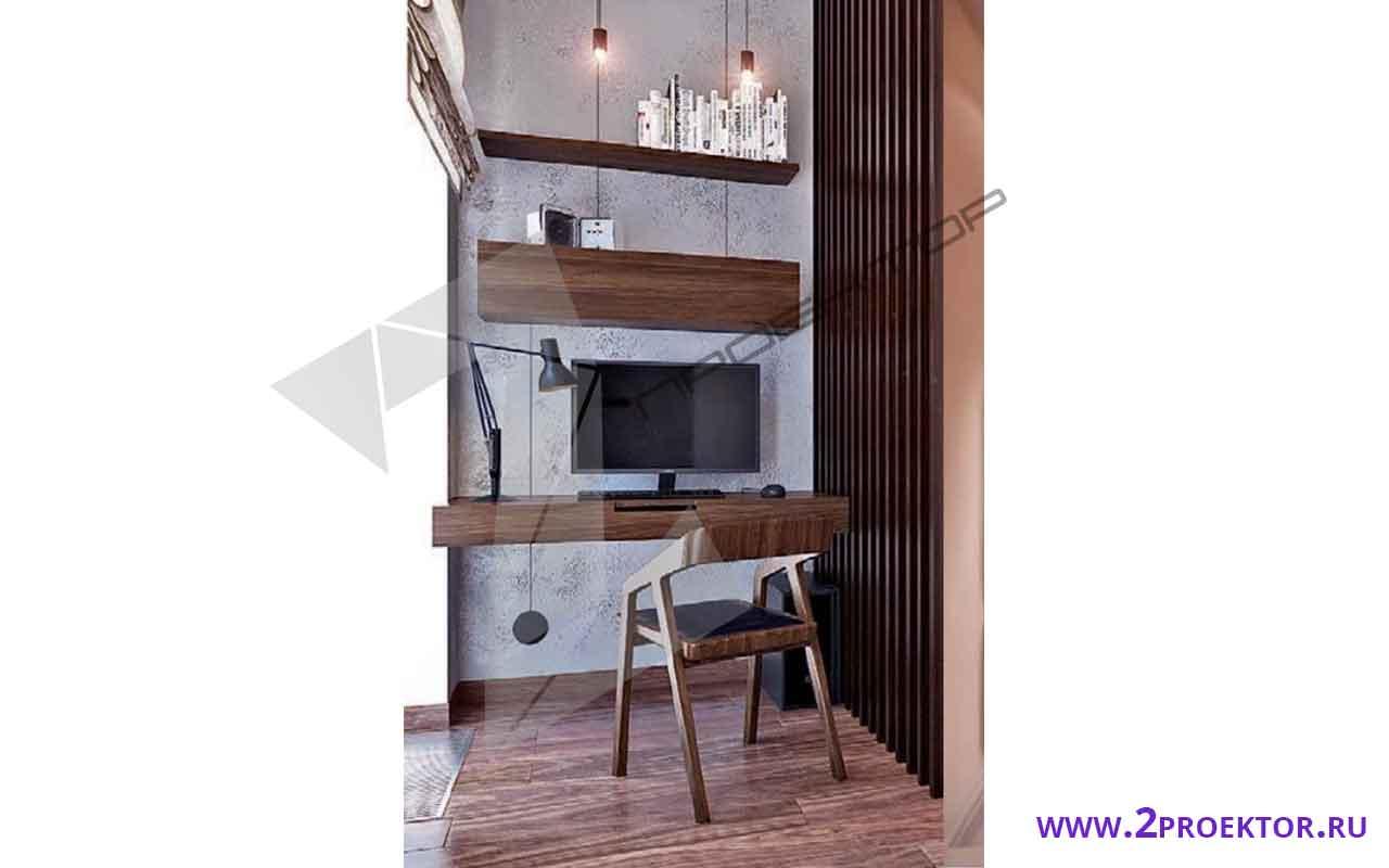 Интерьер перепланировки квартиры в доме сериип 46
