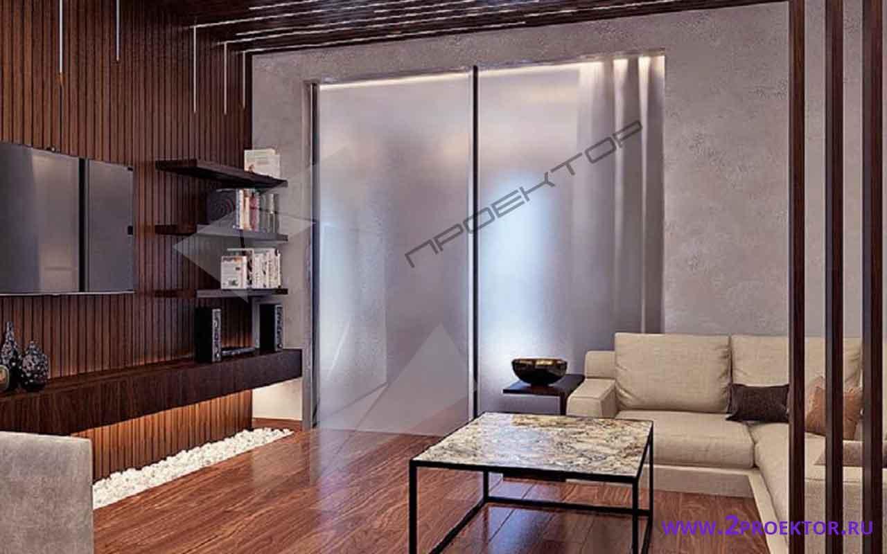 Интерьер перепланировки квартиры в доме серии п 46