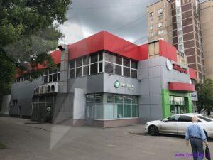 Перепланировка нежилого здания с изменением фасада