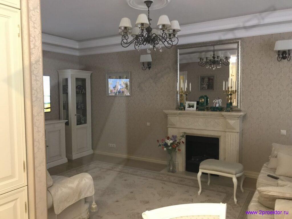 Согласование перепланировки квартиры с устройством камина в квартире на Садовой Черногрязской