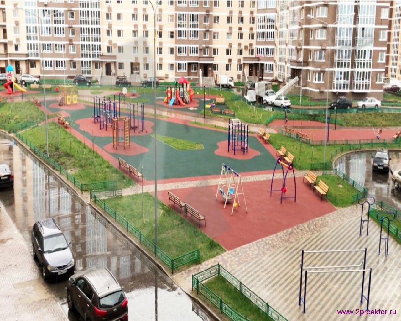 Площадка Жилого комплекса Юго-Западный.