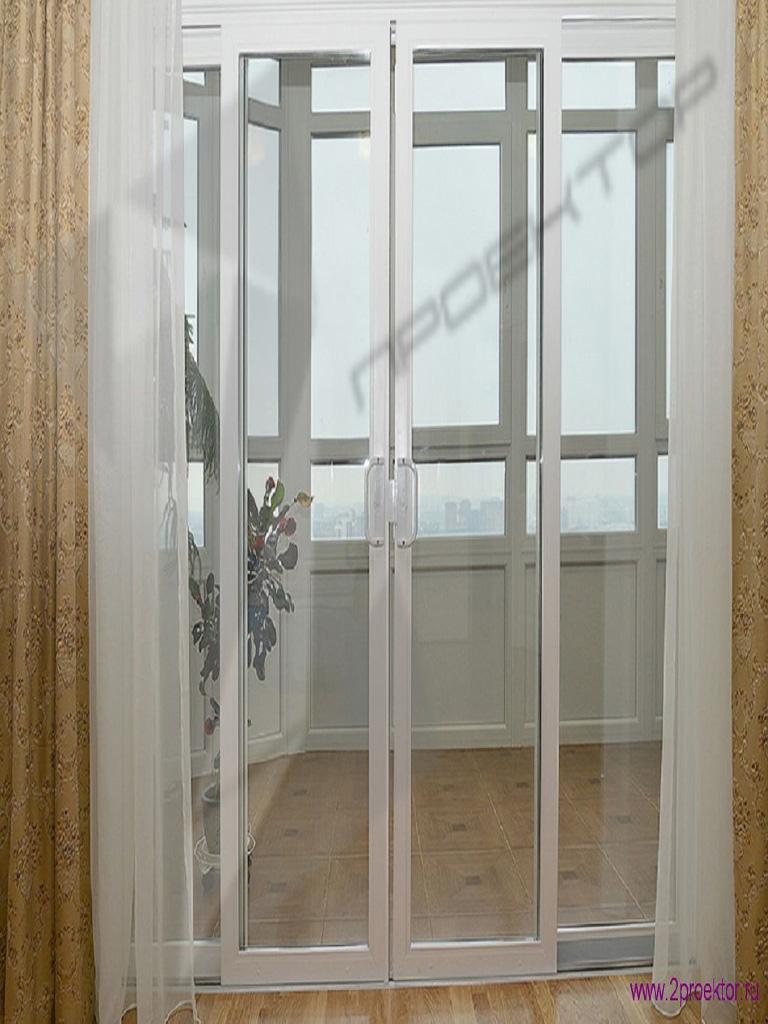 Раздвижные двери на лоджию