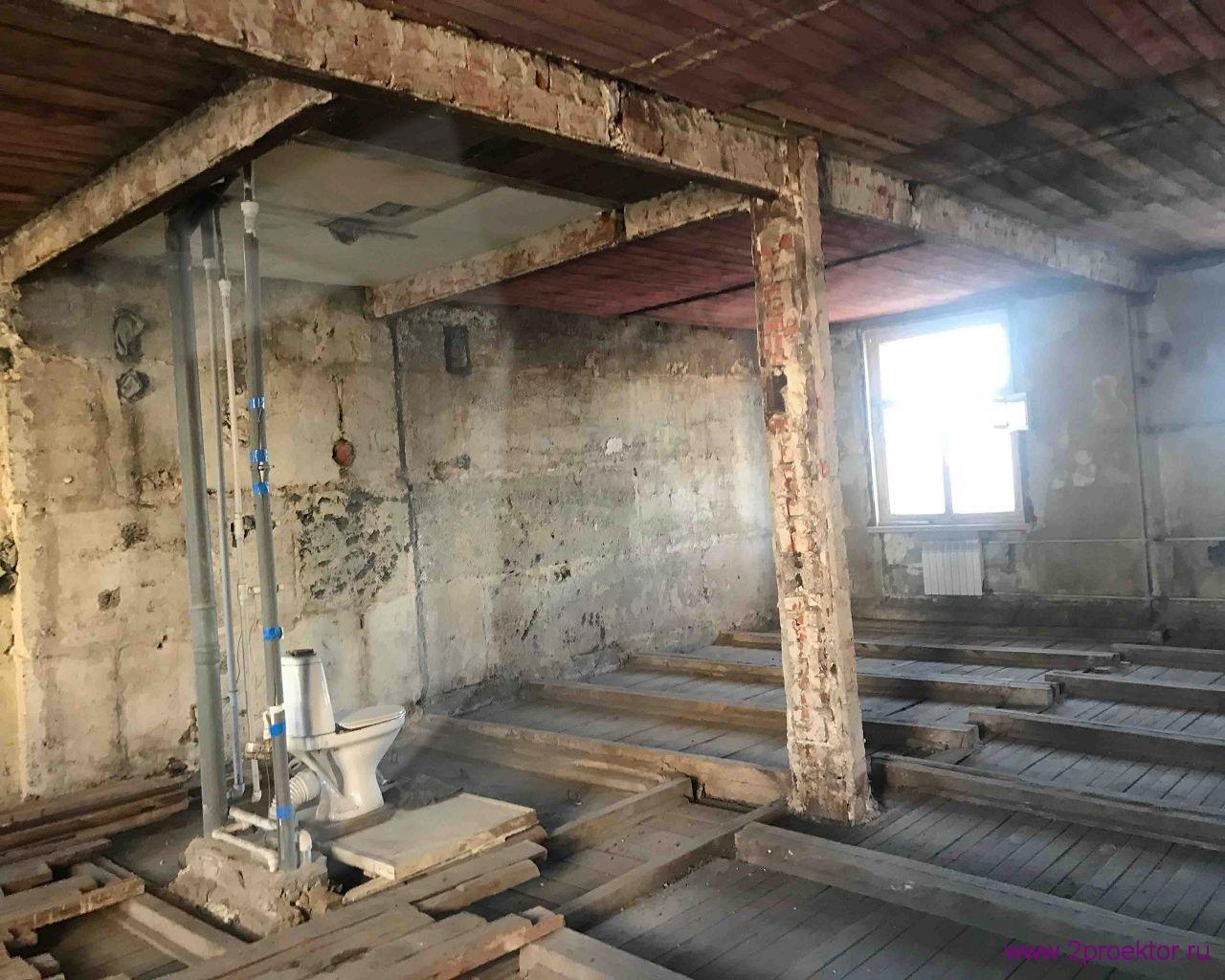 Смешанные перекрытия в кирпичном доме