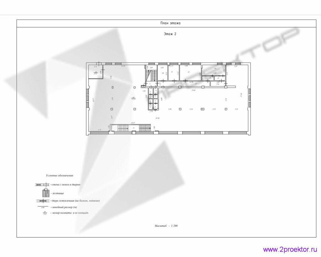 Технический план здания стр. 2
