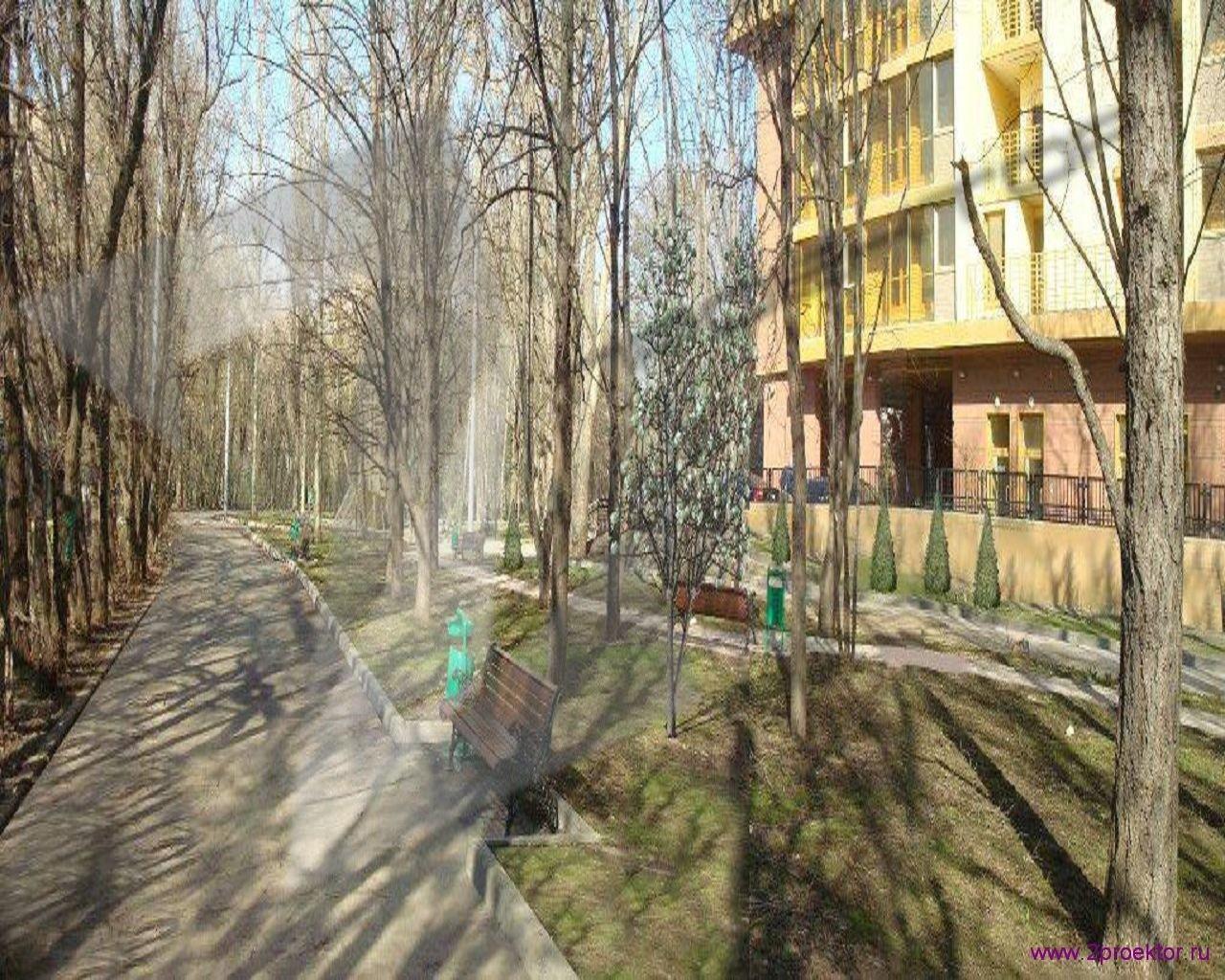 Дворовая территория Жилого комплекса Суворов парк