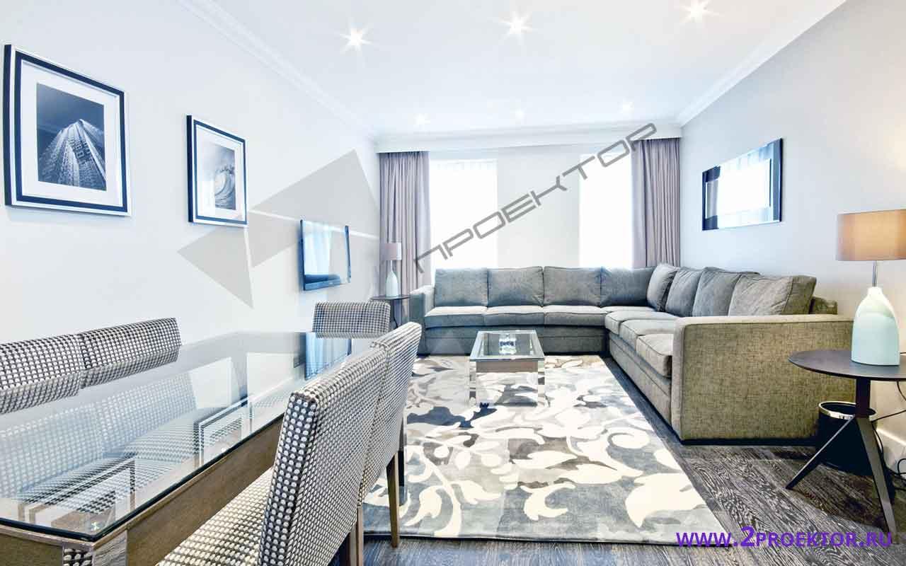 Интерьер перепланировки квартиры в доме серии ii 209 а