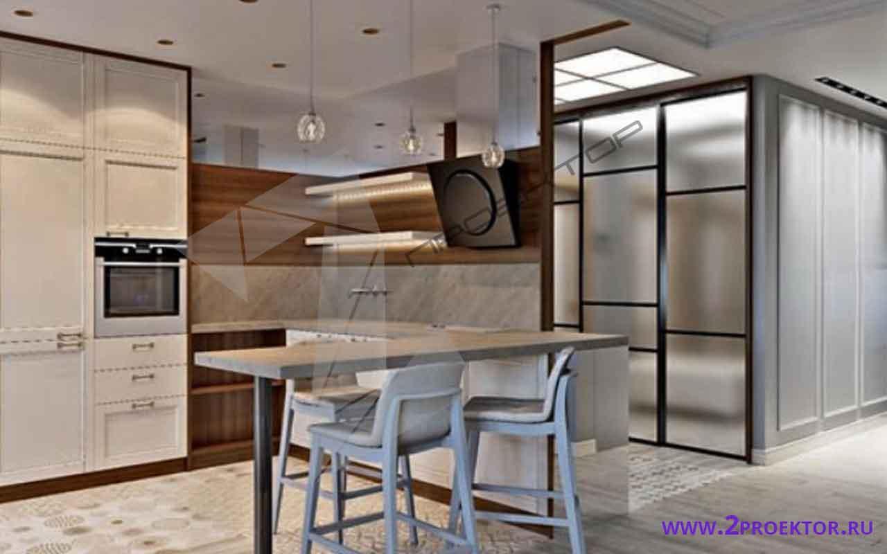 Интерьер перепланировки однокомнатной квартиры в доме серии п 44