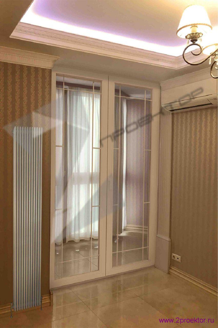 Вертикальный радиатор отопления 1