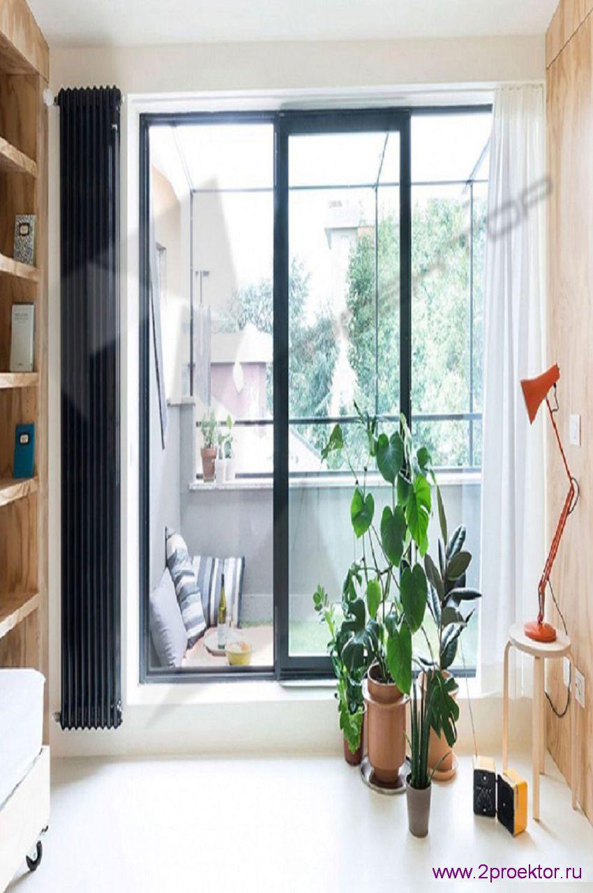 Вертикальный радиатор отопления 2