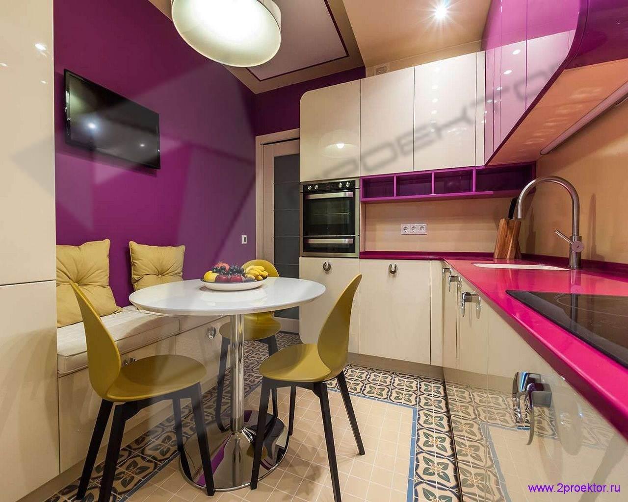 Современный дизайн кухни в Жилом комплексе Дыхание